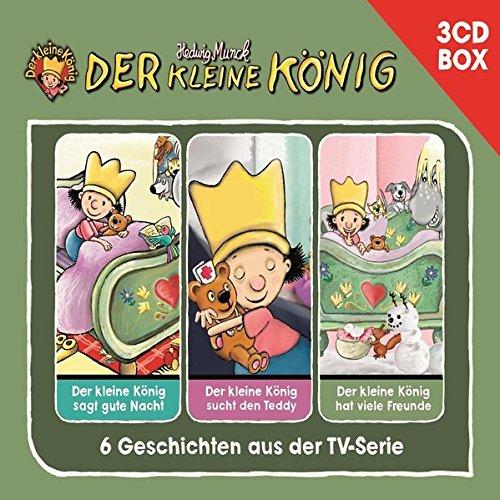 Der Kleine König - 3-CD Hörspielbox Vol. 1 (Hörspielboxen) (Der Könige Geschichte Drei)