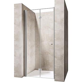 Perfect 700mm Frameless Bifold Shower Door 6mm Glass Shower