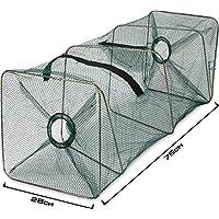 Köderfischreuse Länge 55-75 100cm Futterbeutel Aalreuse Krebsreuse Reuse