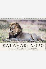 Kalahari - Tierreichtum im Kgalagadi Transfrontier Park, Südafrika (Wandkalender 2020 DIN A2 quer): Das Naturschutzgebiet in der Kalahariwüste ist ... (Monatskalender, 14 Seiten ) (CALVENDO Tiere) Kalender