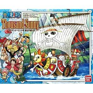 Bandai Hobby Thousand Sunny Model Ship One Piece New World Version