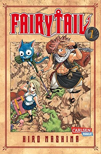 Fairy Tail 01 by Hiro Mashima (2010-08-02)