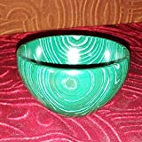 Hit Malachite Bowl Gemstone Hand Carved Crystal Altar Healing 2.50 To 3 Inch