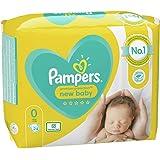 Pampers Ny babystorlek 0 (mikro) bärpaket 24 x 2 totalt 48 blöjor