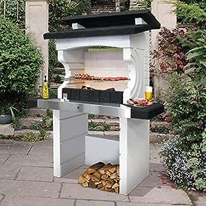 sarom barbecue chemin e de jardin design kos bricolage. Black Bedroom Furniture Sets. Home Design Ideas