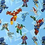 Fabulous Fabrics Verdunkelungsstoff Superhelden 1 —