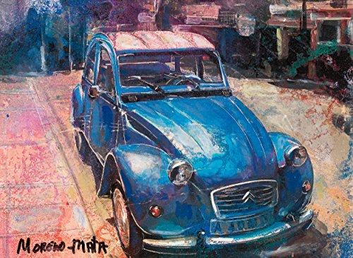 citron-2cv-blue-painting