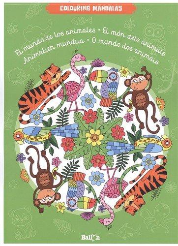Le monde des animaux (CAST) (Mes mandalas à colorier)