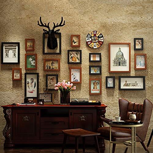 Rompecabezas 3D Cabeza de ciervo Decoración para colgar en la pared, Juego...