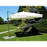 Invezo Impression Luxury Side Pole Premium Quality Garden Umbrella/Outdoor Umbrella/Patio Umbrella - Heavy Duty