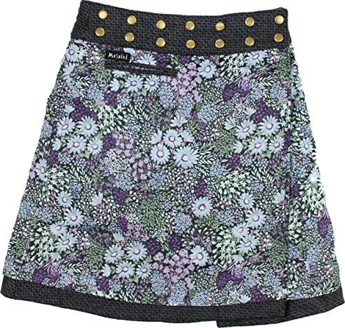 Moshiki - Jupe - Portefeuille - Femme Multicolore Mehrfarbig Taille Unique L888