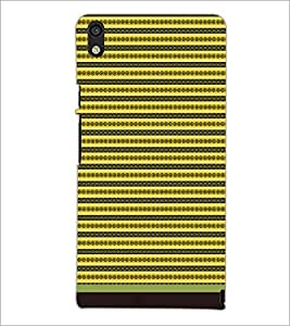 PrintDhaba Pattern D-1721 Back Case Cover for HUAWEI ASCEND P6 (Multi-Coloured)