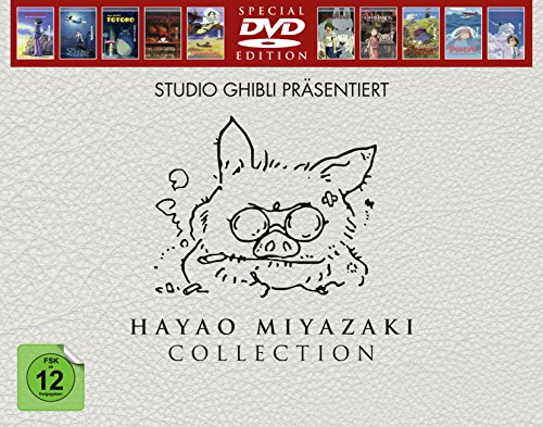 Hayao Miyazaki Collection (Special Edition, 10 Discs) [Alemania] [DVD]
