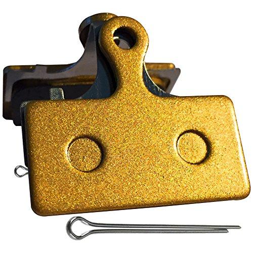 Gorilla gesintert Bremse, Pads Passform Shimano BR M615M666M675M785M985M987M988M8000M9000M9020R315R317R515R517R785RS785S700CX75cx77. Mechanische und hydraulische,. Auch kompatibel mit Pads Modelle F01A F03C G01A G01S G02A g03C und G03TI