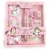 Tera13 Unicorn Pencil Box With Pencil Unicorn Pencil For Girls Unicorn Colours For Kids Unicorn Stationary Set Unicorn Pencil