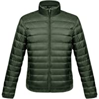 Lightweight Down Jacket Men Packable Down Coat Puffer Jacket Mens Ultra Light Down Filled Jackets Men's Padded Puffa…
