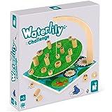 Janod- Jeu d'Adresse-Waterlily Challenge (Bois), J02690, Multicolore