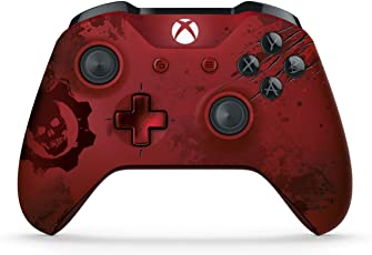 Xbox One Wireless Controller - Gears of War 4 Limited Edition (Crimson Red Edition)