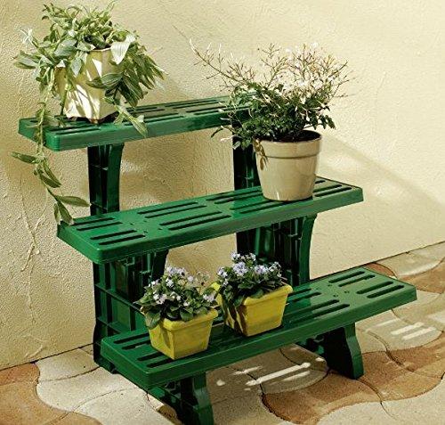 Upp fioriera per piante e fiori a scaletta for Portavasi a scaletta