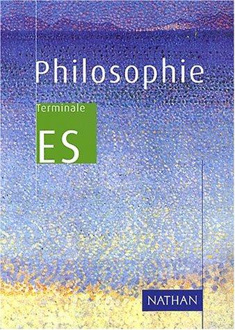 Philosophie Terminale ES : ES 2001