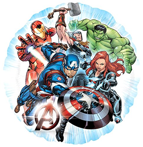 Unbekannt Anagram Folienballon Helium, Avengers (3465501)
