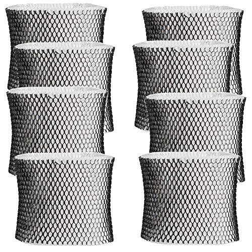 JJDD HWF64 Luftbefeuchter-Filter für Holmes Sunbeam Bionaire Luftbefeuchter - Filter B, passend für HM1645, HM1730, HM1745, HM1746, HM1750, HM1761, HM2220, HM2200, 8 Stück (Bionaire Luftbefeuchter)