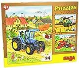 Haba 300444 - Puzzles Traktor und Company