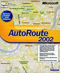 Microsoft Autoroute Euro 2002 Cd W32 Routenplaner Europa