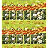 10x Osterei-Zauber Schrumpffolie für je 12 Eier 4 Motive Ostern Ostereier