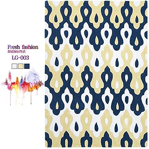 Argyle escandinava minimalista moderno salón de alfombras sofás de estilo 'puf' dormitorio con literas y preciosas alfombras de borde y abstracta ,120×170cm,LG-003