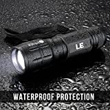 LE Adjustable Focus LED Torch,Super Bright Zoomable LED Flashlight, Batteries Included Bild 2
