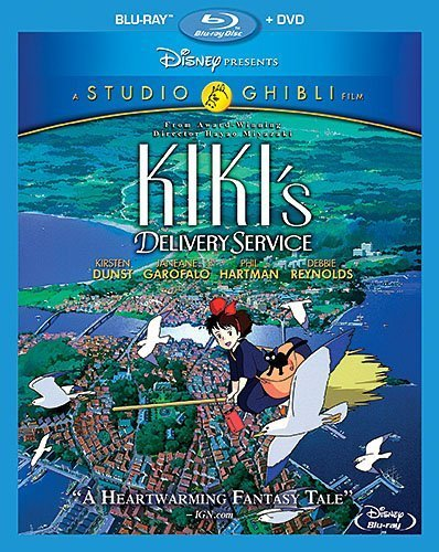 Kiki's Delivery Service (Blu-ray + DVD) by Walt Disney Home Entertainment Presents A Studio G