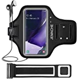 Galaxy S21 Ultra, Note 20, 20 Ultra Armband, JEMACHE Water Resistant Gym Running Workouts Phone Arm Band Case for Samsung Gal