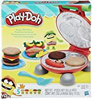 Play-Doh B5521EU4 - Burger Set, Multicolore