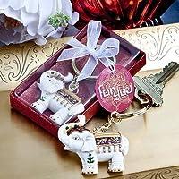 Majestic elephant key chains [SET OF 48] by FashionCraft Wedding Favors preisvergleich bei billige-tabletten.eu