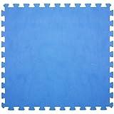 6x alfombrilla Azul 60x 60cm fondo piscina protección antideslizante fondo 43871