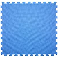 6x Tapis Bleu 60x 60cm fonds piscine Protection antidérapant fond 43871