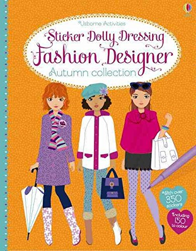 [(Sticker Dolly Dressing Fashion Designer Autumn Collection)] [By (author) Fiona Watt ] published on (August, 2014) (Sticker Dolly 2014)