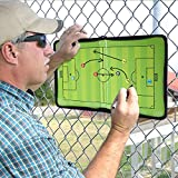 GHB Coaches Taktiktafel Taktiktafel fussball Coach-board mit Stifte, Radiergummi, Magneten - 3