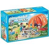 Playmobil - Tente et Campeurs - 70089