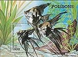 Guinea Block534 (kompl.Ausg.) 1998 Beliebte Aquarienfische (Briefmarken für Sammler)