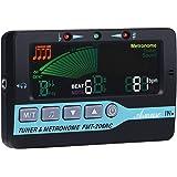 Asmuse 3 en 1 Mini Accordeur de Guitare Métronome Electrique Portable Multifonction avec haut-parleur et Ecran LCD 800, Métro