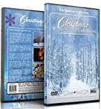 Christmas DVD - Christmas Collection Videos of Falling Snow, Christmas Lights & Fireplaces by Fireplace with Christmas Scenery and Lights and Snowfalls