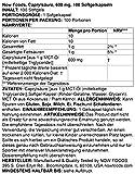 Now Foods, Acide caprylique (Caprylic Acid), 600 mg, 100 gélules