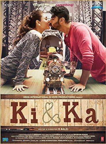 KI & KA - BLU-RAY - (Hindi mit Englischem Untertitel) - Original Bollywood - Kareena Kapoor, Arjun Kapoor - 2016