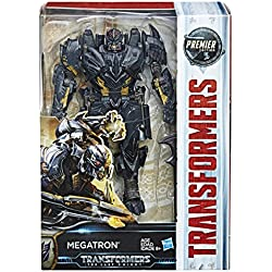 Transformers : The Last Knight – Premier Edition – Voyager Class – Megatron – Figurine 15 cm