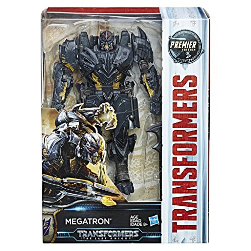 Transformers The Last Knight Premier Edition Voyager Class Megatron Figure
