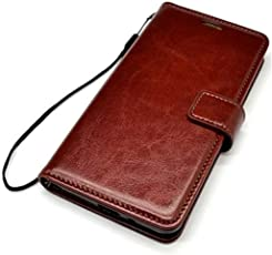 Zocardo Premium Leather Case *Inner TPU, Wallet Stand, Flip Cover for Nokia 1 - Executive Brown