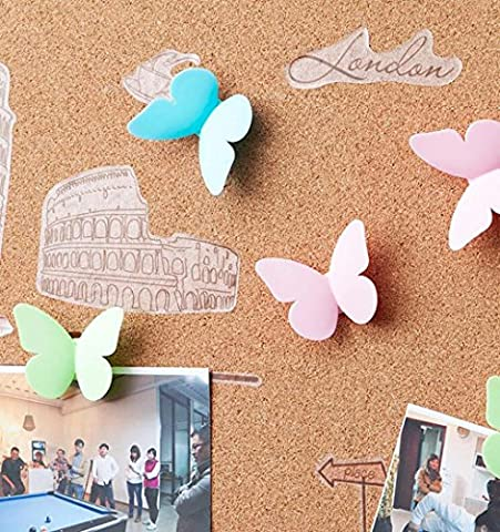 AN-LKYIQI Creative Home Plastik Haken Hook Schmetterling profilstahl Schmetterling Tür und Fenster stark (Schmetterling Dish)