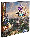 Thomas Kinkade Aladdin 14x 14Gallery Leinwand Wrap